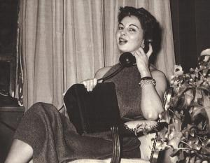 Bonnie Cashin, 1950s.